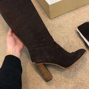 Michael Kors knew-high boots